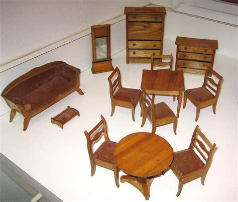 Antique Doll Furniture by Large Set Antique German Miniature Doll House Furniture Ebay