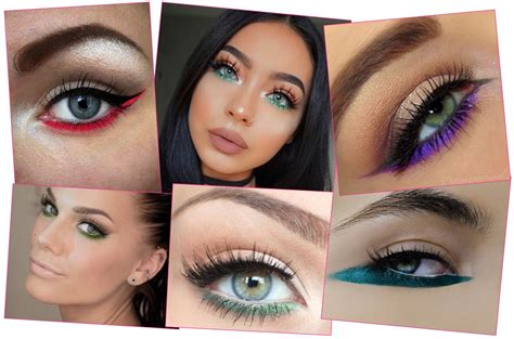 how to wear colored eyeliner 6 ways to wear colored eyeliner that are so gorgeous