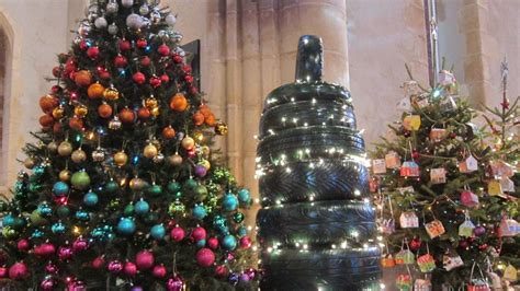 magheralin s first christmas tree festival bbc news