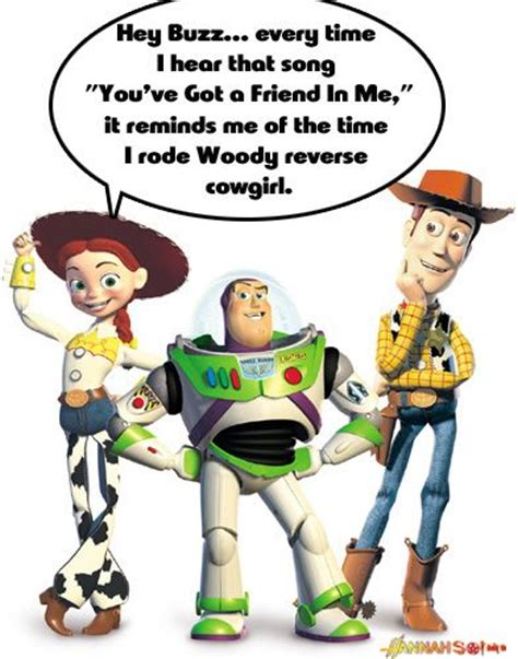 Woody And Buzz Meme - jesse buzz woody toy story meme cartoon captions