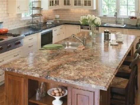 top 21 kitchen granite islands with seating and photos