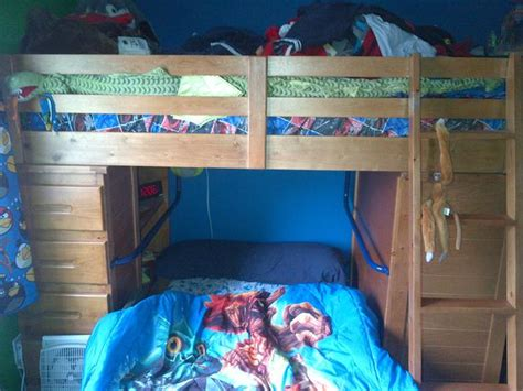 pine bunk bed with desk ponderosa pine student loft bunk bed with desk and