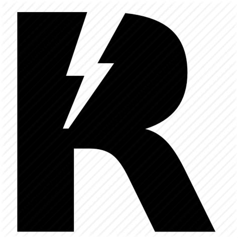 Rok Letter A Resleting Size Xxxxl letter r rock shock icon icon search engine