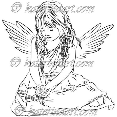 little angels coloring pages 5 best images of free printable adults coloring pages