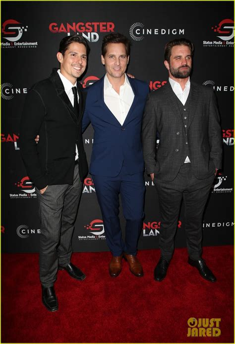 watch free movies gangster land by sean faris and milo gibson sean faris gets support from wife cherie daly at gangster land premiere watch trailer