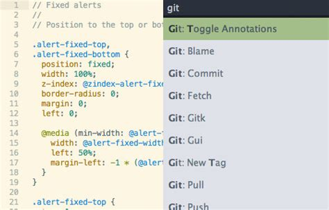 git tutorial terminal 18 essential plugins to get more out of sublime text