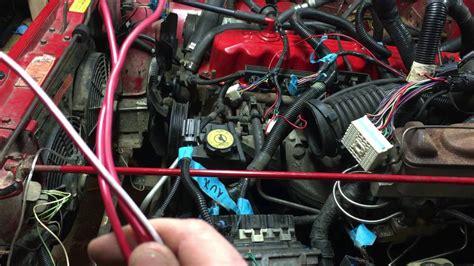 Jeep 4 0 Engine Interchange Jeep Yj 4 2 To 4 0 Engine Wiring Part 2