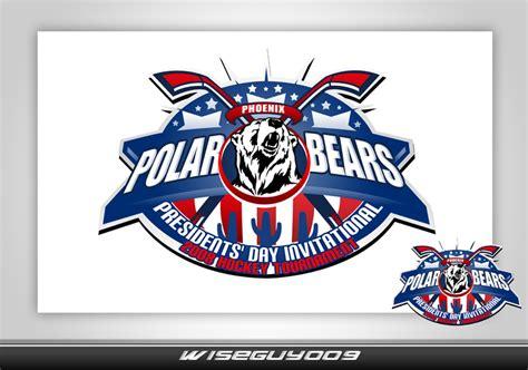 logo tournament contests presidents day hockey tournament logo banner logo