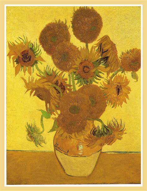 vaso girasoli gogh girasoli gogh la serie di fiori pi 249 famosa di sempre