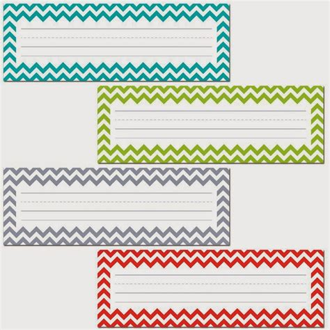 printable desk tags 7 best images of free printable chevron name plates free