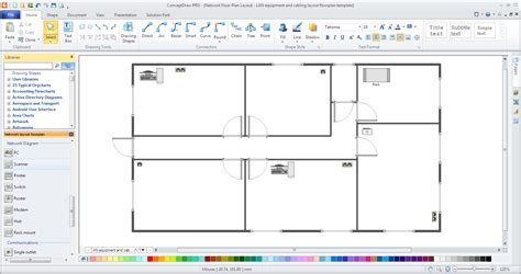 office layout template free office network layout template