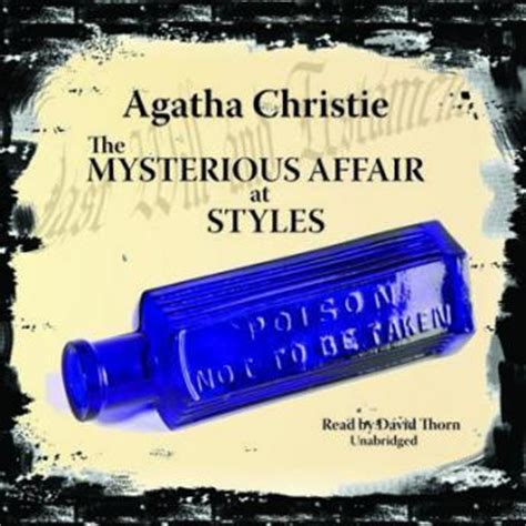 0007119275 the mysterious affair at styles listen to mysterious affair at styles by agatha christie