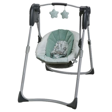 target swings graco 174 slim spaces compact baby swing target