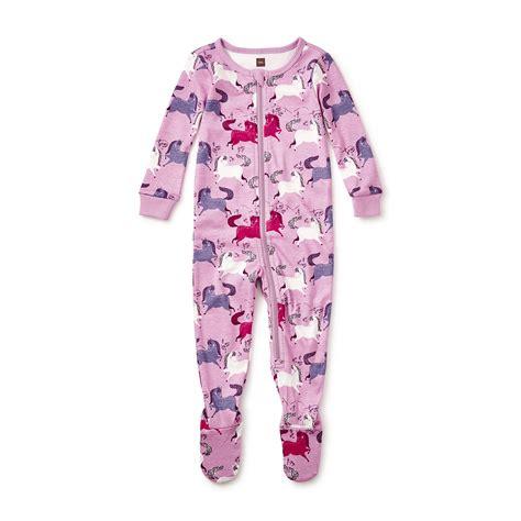 tea pajamas shetland baby pajamas tea collection