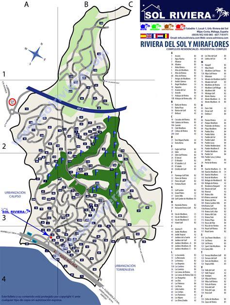 riviera map costa sol maps riviera sol sol riviera
