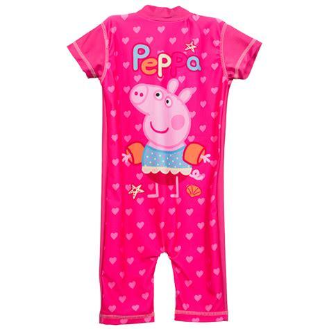 peppa pig uv sunsuit clothing swimwear