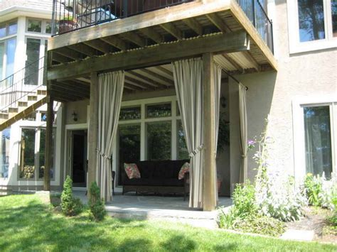 outdoor deck curtains outdoor various style of the outdoor patio curtain ideas