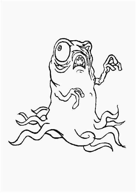 monsters coloring pages