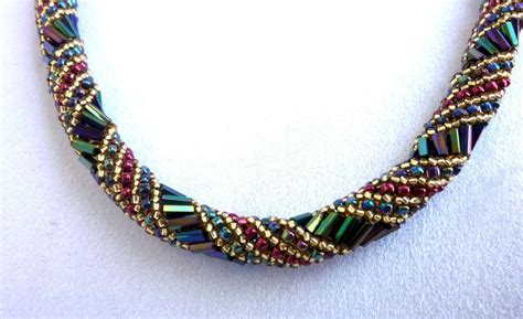 you to see style seed beaded necklace on