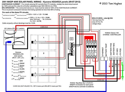 solar panel wiring diagram for rv gallery wiring diagram
