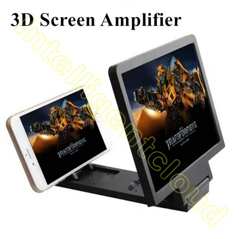 Enlarged Screen 3d For Mobile Phone Best Seller 3d lifier folding portable mobile phone screen