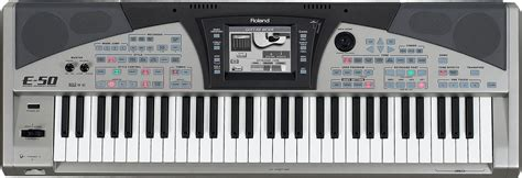 world of portable keyboard 187 roland e 50