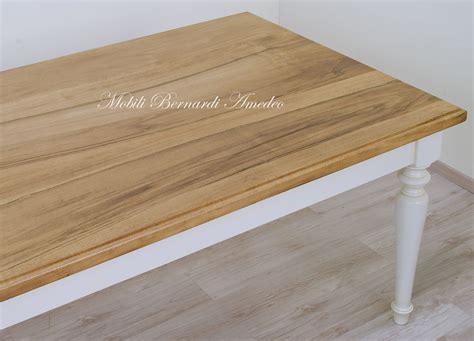 tavoli per cucina in legno tavoli da pranzo in legno massello tavoli