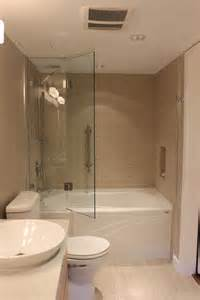 Folding shower doors bathroom transitional with custom bi fold glass