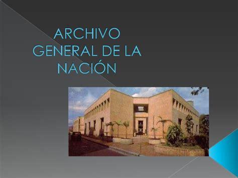 archivo general de la nacion archivo general de la archivo general de la naci 243 n ii