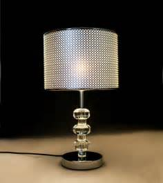 wholesale refined modern table lamp with chrome base