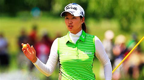 chella choi golf swing chella choi leads women s australian open after course