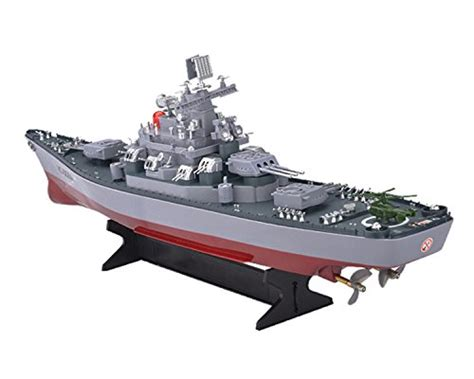 Kapal Boats Rc Sound Light navy warship kamisco