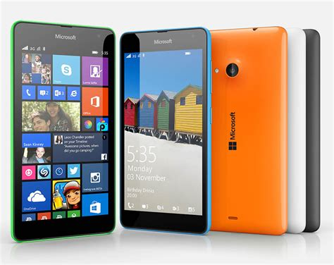 Update Microsoft Lumia 535 Dual Sim microsoft lumia 535 put to the test with lumia denim software