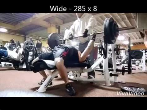 bench press 160 lbs 10 weeks out close grip bench press 330 at 160 lbs youtube