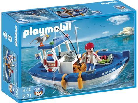 playmobil boat playmobil fishing boat 5131 table mountain toys