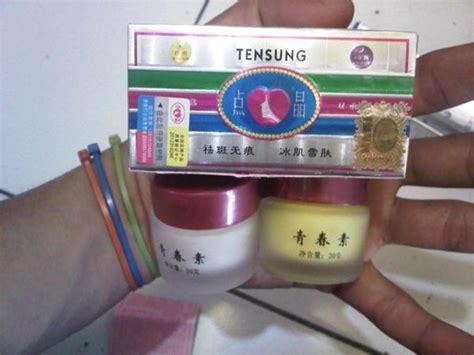 Tensung Japan Pemutih Wajah jual promo pemutih muka wajah alami herbal tensung