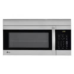 microwave store lg electronics 1 7 cu ft over the range microwave oven