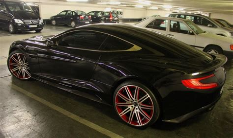 custom aston martin vanquish sight to behold aston martin vanquish on vellano wheels