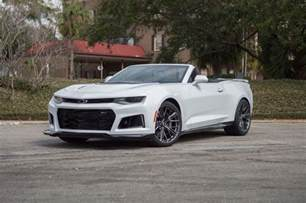 Chevrolet Convertible 2017 Chevrolet Camaro Zl1 Convertible Has A Whole Lot Of