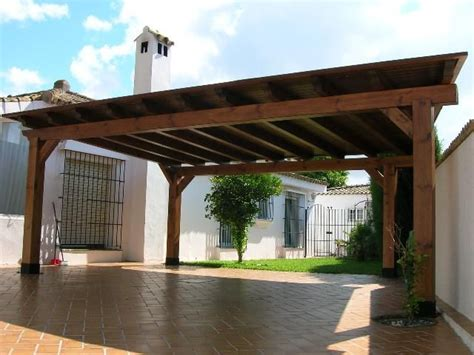 Pergola Style Carport by The Pergola Design Add Brick Bases Voila