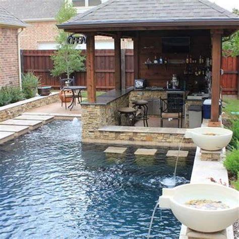 28 Fabulous Small Backyard Designs With Swimming Pool | 28 fabulous small backyard designs with swimming pool