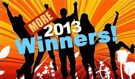 And The Winners Are Updated by 2013 Winners Update Yummymummyclub Ca