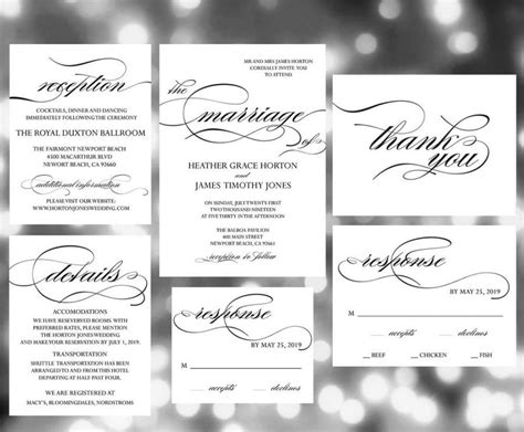 Ready To Print Wedding Invitations by Printable Wedding Invitation Template Invites Weddi On