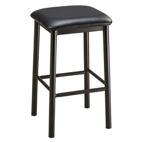 commercial backless bar stools regal seating 1174 commercial square backless metal barstool