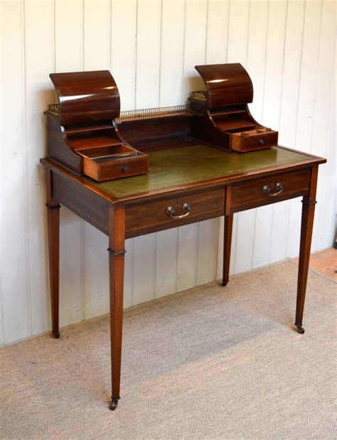 mahogany writing desk mahogany inlaid writing desk antiques atlas