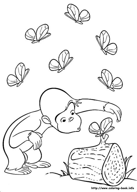 curious george coloring pages images cute monkey 13 curious george coloring pages for kids