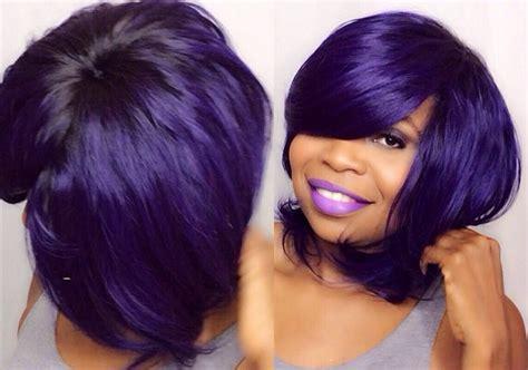 brazilian blowout bobs how to do quick weave no part purple saga brazilian