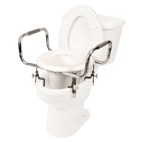 adjustable hight raised toilet seat  shipping home