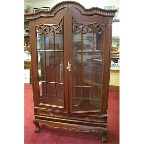 glass armoire wooden armoire glass doors