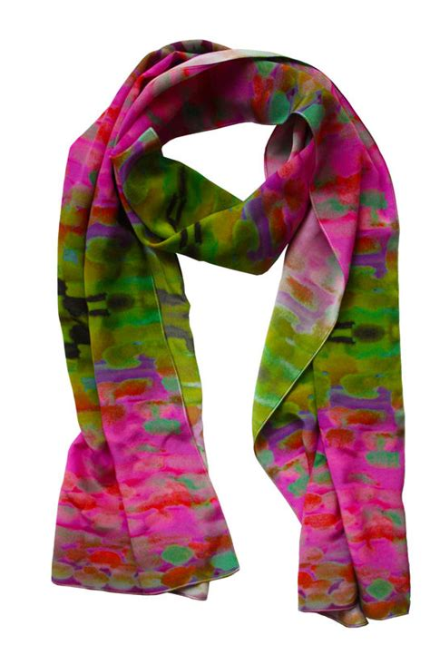 pretty square silk scarf painting series 232 scarves
